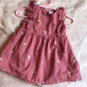 Old navy mauve baby dress